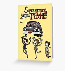 Supernatural Time Greeting Card