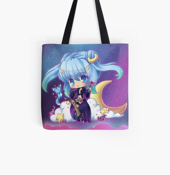 Lunar Mage All Over Print Tote Bag