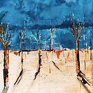 Untitled No8:  'Our Precious Earth' series by Susan MacFarlane
