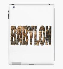 BABYLON iPad-Hülle & Klebefolie