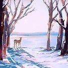Schneebedeckter Morgen von Pema Horeau