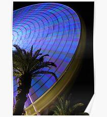 Waterfront Ferris Wheel Poster