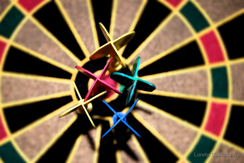 bullseye by Loreto Bautista Jr.
