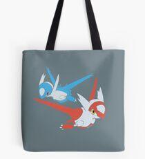 Latias and Latios - Eon Tote Bag