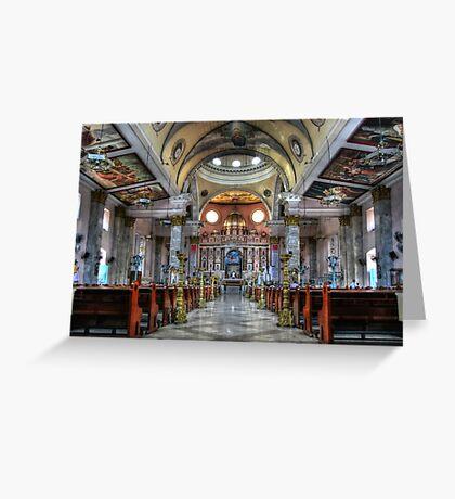 Binondo Church  Greeting Card