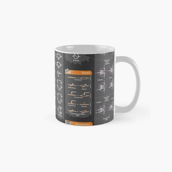 Electrical Engineering Symbols Reference Classic Mug
