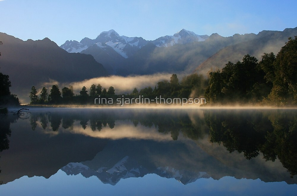 """misty matheson""   fox glacier, south westland nz by rina sjardin-thompson"