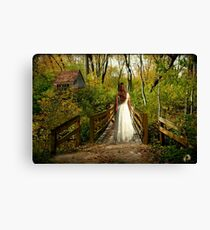 Can't Go Back to the Way it Was... Canvas Print