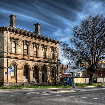Post Office and Town Hall (Colour) - Clunes by scatrdjason