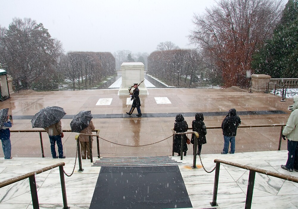 Tomb of the Unknown Soldier by mikeleblanc
