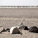 Burial Site on Hamada by helenlloyd