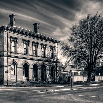 Post Office and Town Hall (Split Toned) - Clunes by scatrdjason