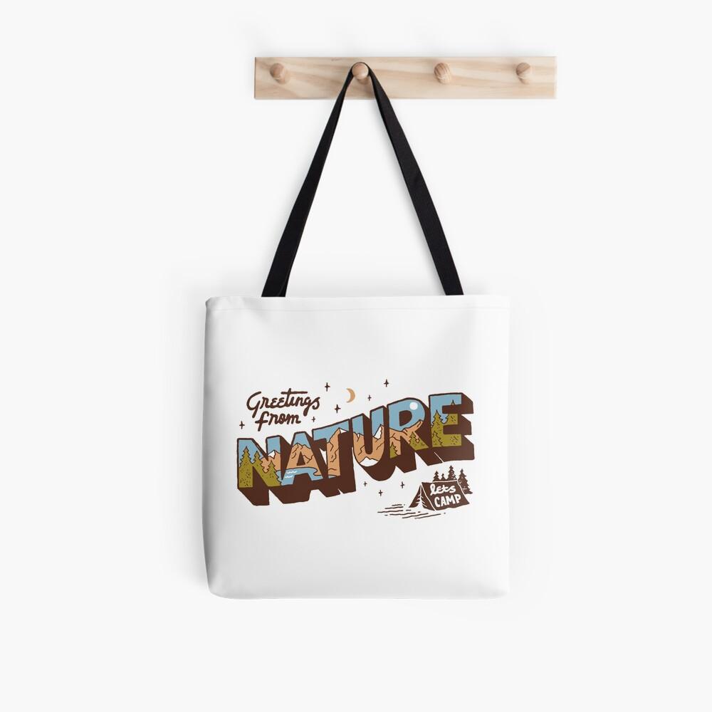 Nature Greetings Tote Bag
