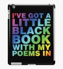 A Little Black Book iPad Case/Skin