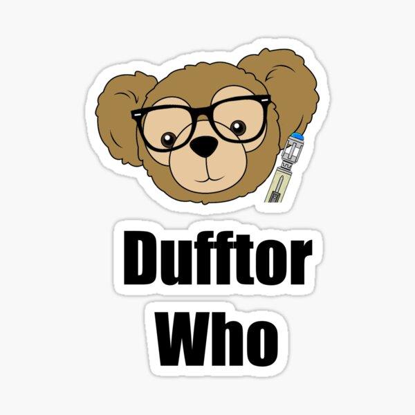 Dufftor Who Sticker