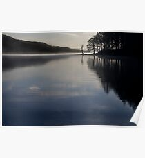 Blue Coniston Poster