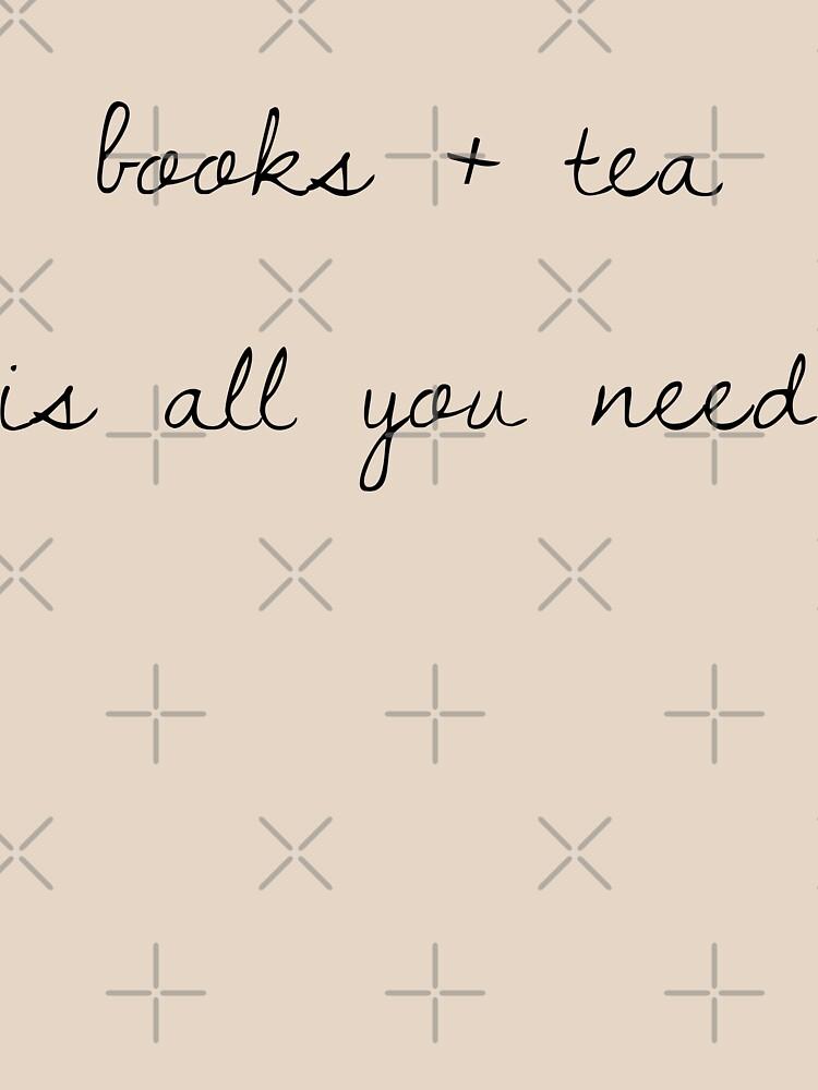 libros + té es todo lo que necesitas de princessbedelia