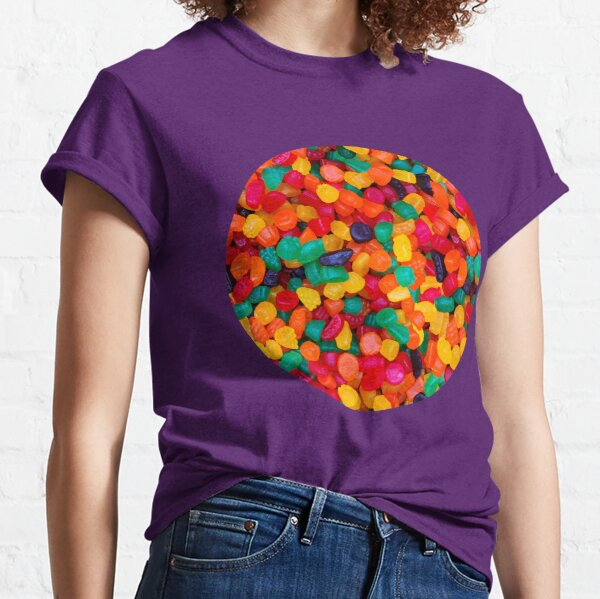 Jujube Gummy Real Candy Pattern Classic T-Shirt