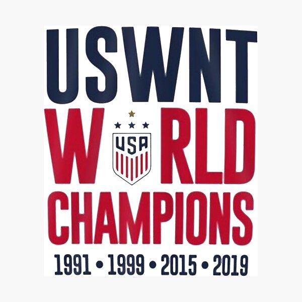 USWNT Champions Photographic Print