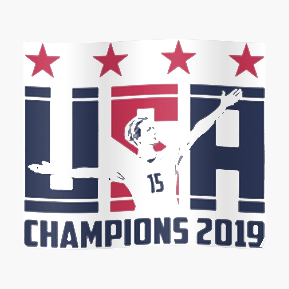 Campeones USWNT Póster