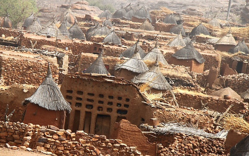 Quot Traditional Dogon Village Indelou Mali Quot By Helenlloyd