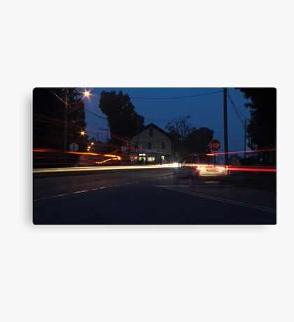 The Ghost Vehicle Canvas Print