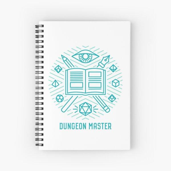 Dungeon Master Spiral Notebook