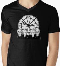 The Gentlemen Clocktower Men's V-Neck T-Shirt