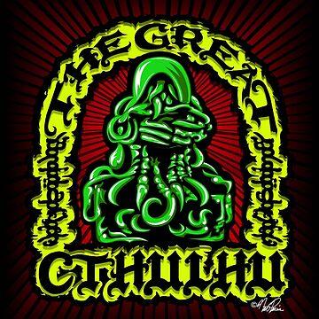 Great Cthulhu ( En Scarlette ) by rewireddesign