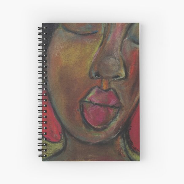 Pastel Portrait - S65 Spiral Notebook