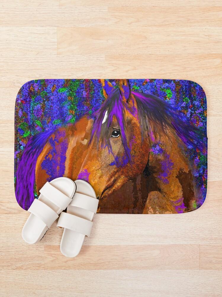 Alternate view of HORSE  Bath Mat