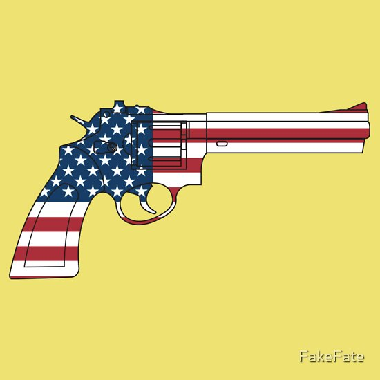 TShirtGifter presents: USA Gun