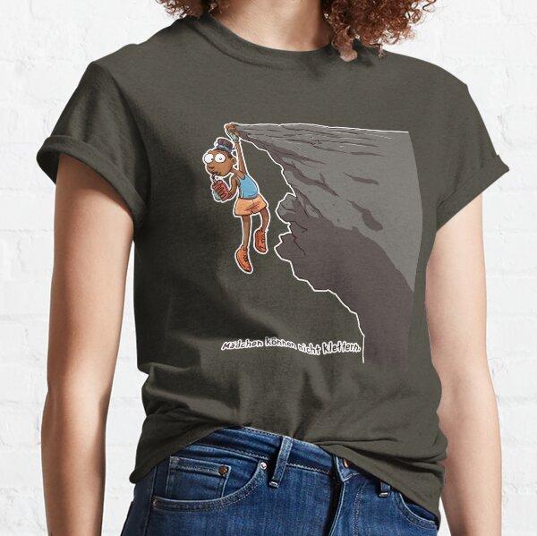 Mädchen können nicht klettern Classic T-Shirt
