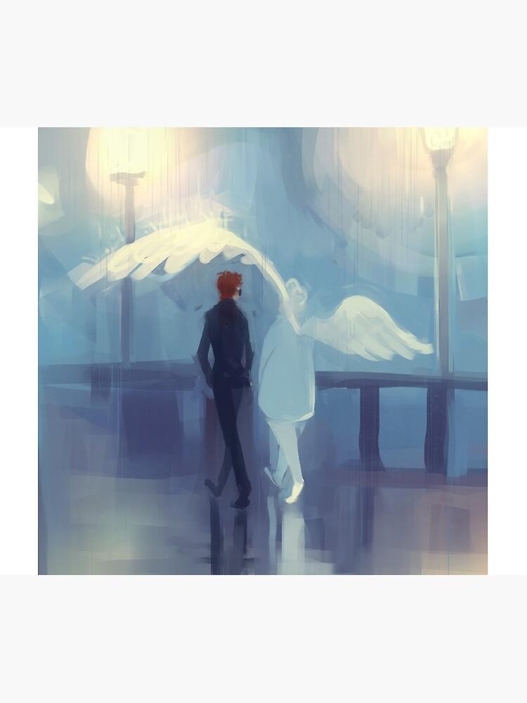 rainy day romance by nathengyn