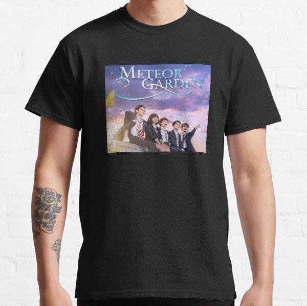 Jardín de meteoros Camiseta clásica