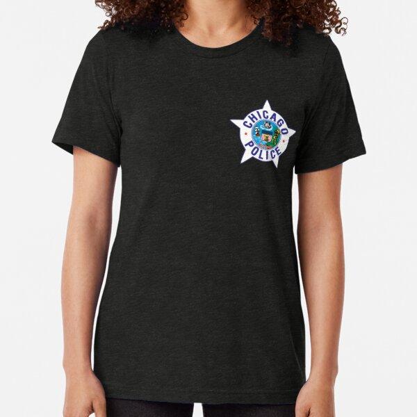 Chicago PD badge Tri-blend T-Shirt