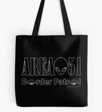 Area 51 Border Patrol Tote Bag