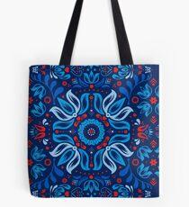 Folk Floral Tale Tote Bag