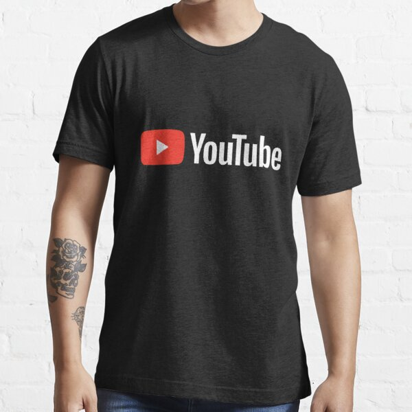 TOP SELLER - Youtube Logo Merchandise Essential T-Shirt