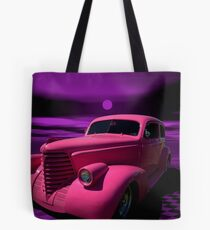 "1938 Oldsmobile ""Pepto Bismol"" Custom Hot Rod Tote Bag"