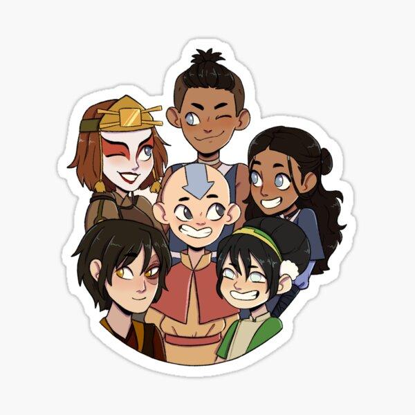 The Gaang (updated) Sticker