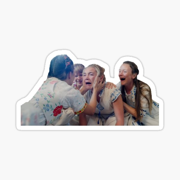 Midsommar Sticker (Sans Text) Sticker