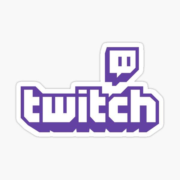 BEST SELLER - Twitch Logo Merchandise Sticker