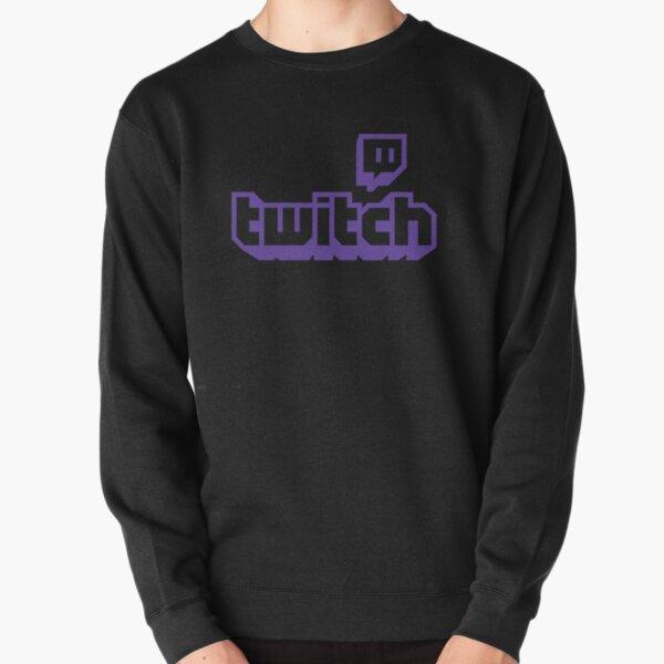 BEST SELLER - Twitch Logo Merchandise Pullover Sweatshirt