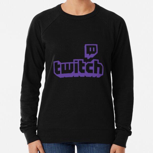 BEST SELLER - Twitch Logo Merchandise Lightweight Sweatshirt