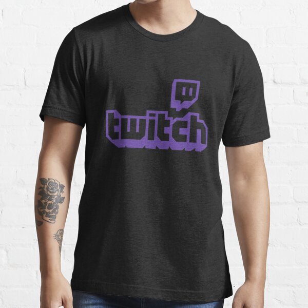 BEST SELLER - Twitch Logo Merchandise Essential T-Shirt