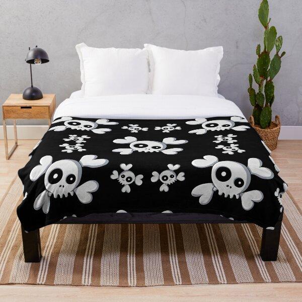 Cute Skullz Throw Blanket