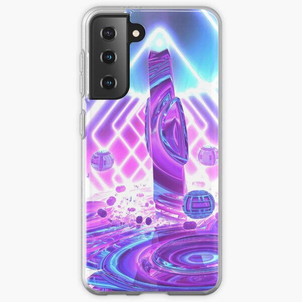 Quantum Jump by Spaced Painter Samsung Galaxy Soft Case