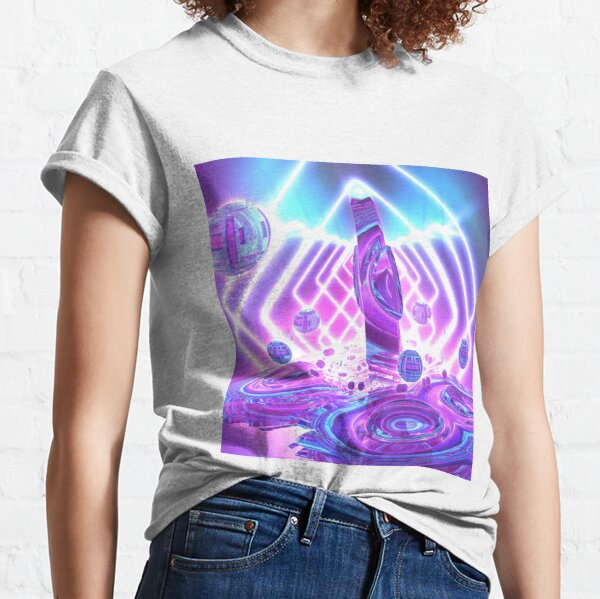 Quantum Jump by Spaced Painter Classic T-Shirt