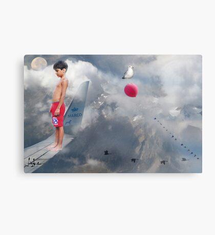 IL SOGNO DI UN BAMBINO Canvas Print